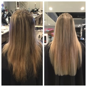 Before & After Extensions